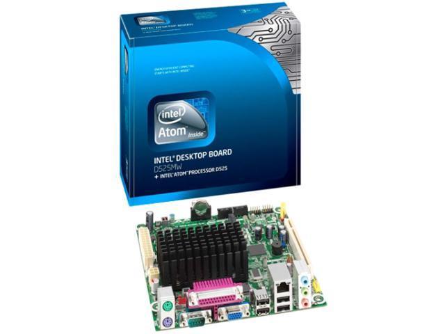 Intel BLKD525MW Intel Atom D525@ 1.8GHz (Dual Core) BGA559 Intel NM10 Mini ITX Motherboard/CPU Combo