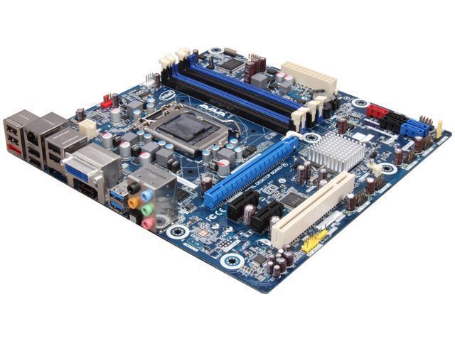 Intel BOXDH67BLB3 LGA 1155 Intel H67 HDMI SATA 6Gb/s USB 3.0 Micro ATX Intel Motherboard