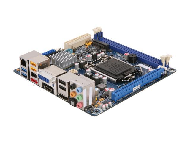 Intel BOXDH77DF LGA 1155 Intel H77 HDMI SATA 6Gb/s USB 3.0 Mini ITX Intel Motherboard