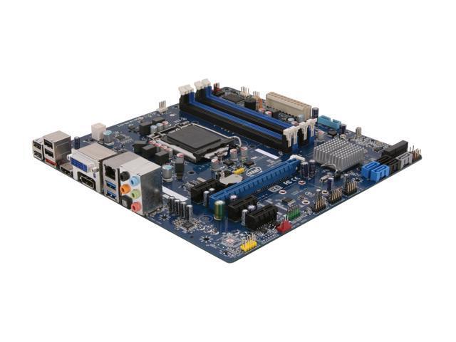 Intel BOXDH77EB Micro ATX Intel Motherboard