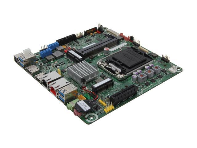 Intel BOXDQ77KB LGA 1155 Intel Q77 HDMI SATA 6Gb/s USB 3.0 Mini ITX Intel Motherboard