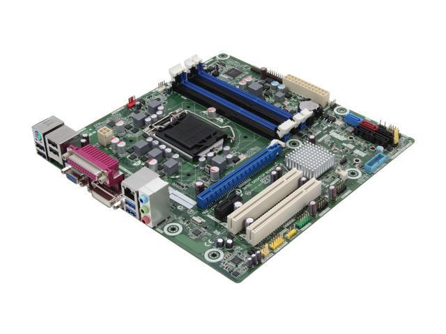 Intel BOXDB75EN LGA 1155 Intel B75 SATA 6Gb/s USB 3.0 Micro ATX Intel Motherboard