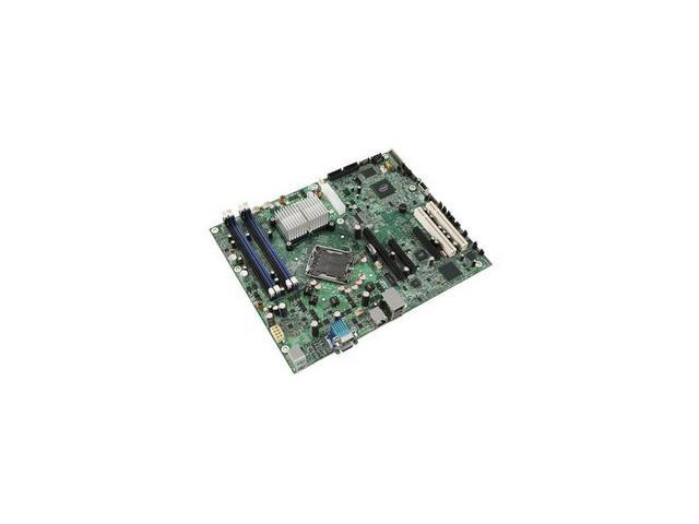 Intel S3210SHLC Server Motherboard - Intel Chipset - Socket T LGA-775 - OEM Pack