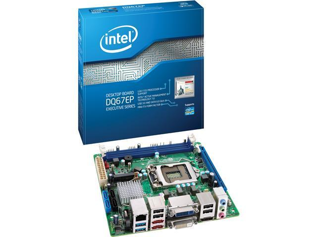 Intel Executive DQ67EP Desktop Motherboard - Intel Q67 Express Chipset - Socket H2 LGA-1155 - 10 Pack