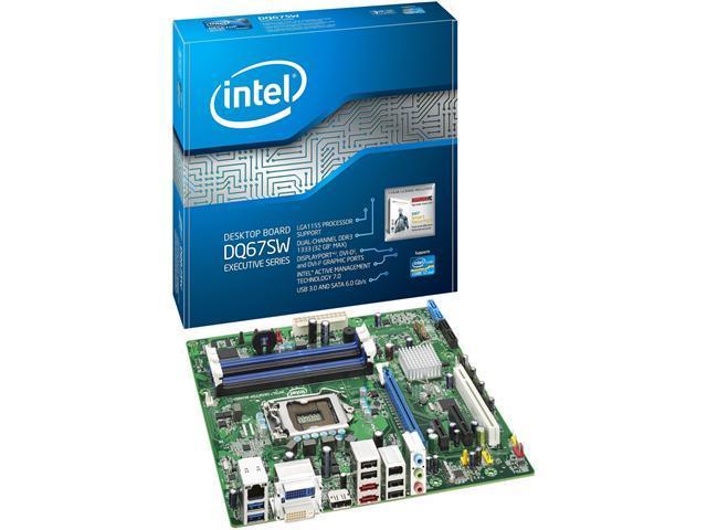 Intel Executive DQ67SW Desktop Motherboard - Intel Q67 Express Chipset - Socket H2 LGA-1155 - 10 Pack