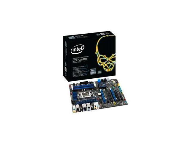 Intel Extreme DZ77GA-70K Desktop Motherboard - Intel Z77 Express Chipset - Socket H2 LGA-1155 - 10 x Bulk Pack