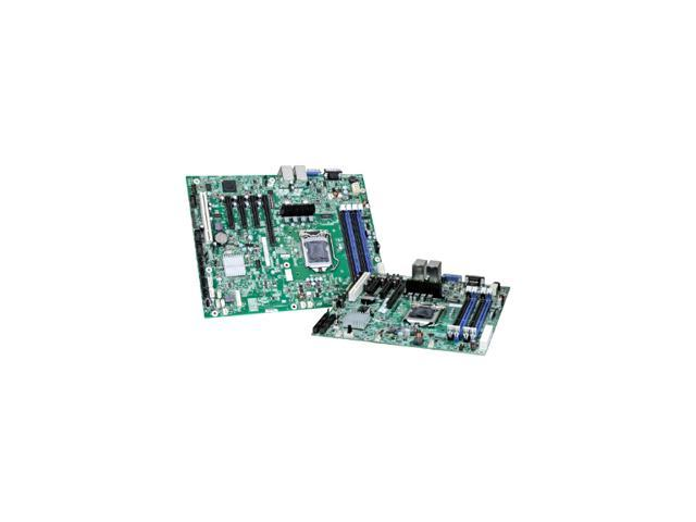 Intel S1200BTSR Server Motherboard - Intel C202 Chipset - Socket H2 LGA-1155 - 5 x Bulk Pack