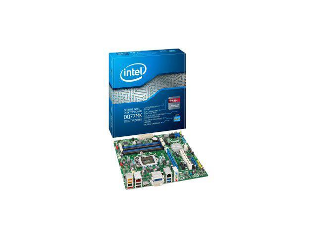 Intel Media DQ77MK Desktop Motherboard - Intel Q77 Express Chipset - Socket H2 LGA-1155 - 10 x Bulk Pack