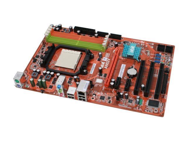 ABIT AN52V AM2+/AM2 NVIDIA nForce 520 MCP ATX AMD Motherboard