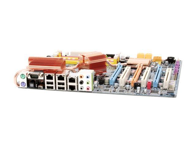 GIGABYTE GA-N680SLI-DQ6 LGA 775 NVIDIA nForce 680i SLI ATX Intel Motherboard