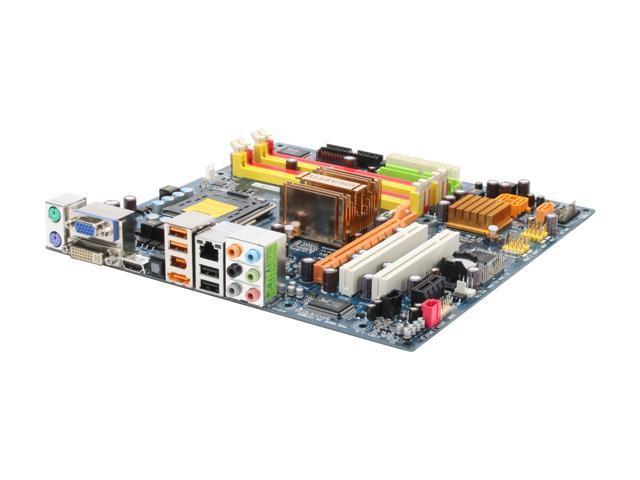 GIGABYTE GA-G33M-S2H LGA 775 Intel G33 HDMI Micro ATX Intel Motherboard