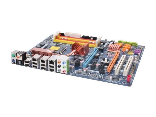 GIGABYTE GA-P35-DS3P Rev 2.0 LGA 775 Intel P35 ATX Ultra Durable 2, Ultra Cooling Intel Motherboard