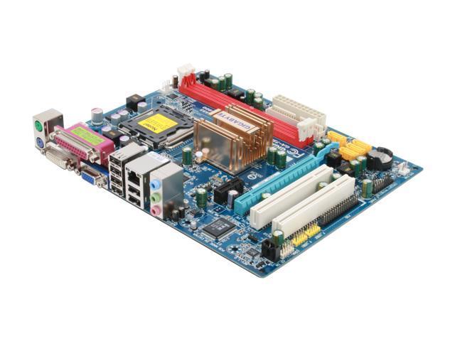 GIGABYTE GA-73PVM-S2 LGA 775 NVIDIA GeForce 7100/nForce 630i Micro ATX Intel Motherboard