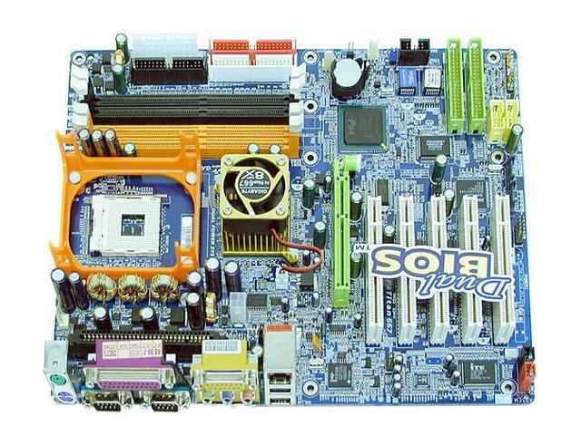 GIGABYTE GA-8INXP 478 Intel E7205 ATX Intel Motherboard