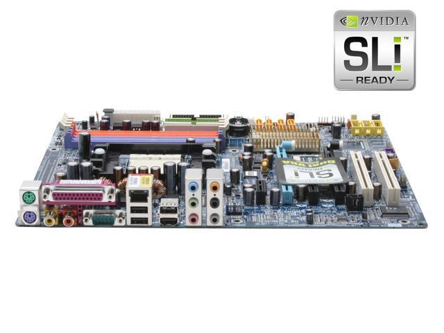 GIGABYTE GA-K8N Pro-SLI 939 NVIDIA nForce4 SLI ATX AMD Motherboard with 1394b