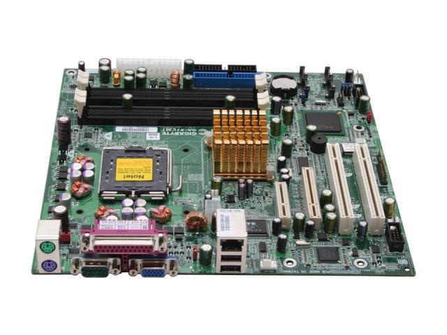 GIGABYTE GA-8ICMT Micro ATX Server Motherboard LGA 775 Intel E7221 DDRII-400/533