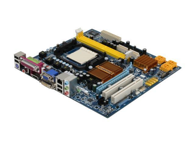 GIGABYTE GA-MA74GM-S2H AM2+/AM2 AMD 740G HDMI Micro ATX AMD Motherboard