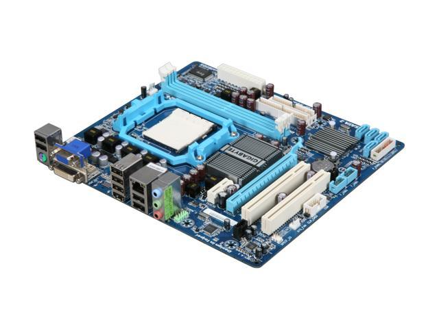GIGABYTE GA-MA74GM-S2 Micro ATX AMD Motherboard