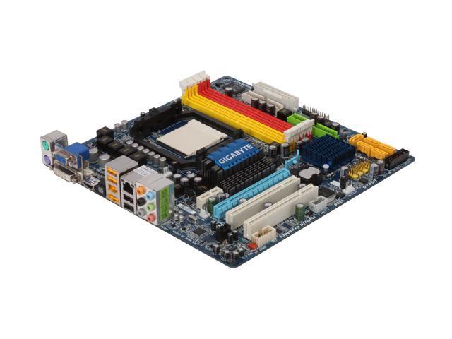 GIGABYTE GA-MA78GM-US2H Micro ATX AMD Motherboard