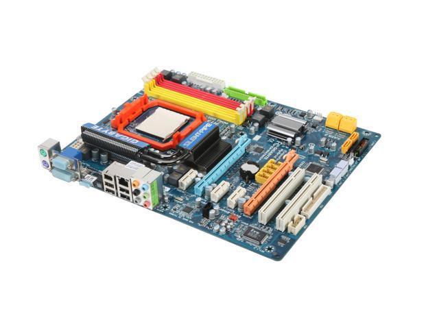 GIGABYTE GA-MA790GP-UD4H AM3/AM2+/AM2 AMD 790GX HDMI ATX AMD Motherboard