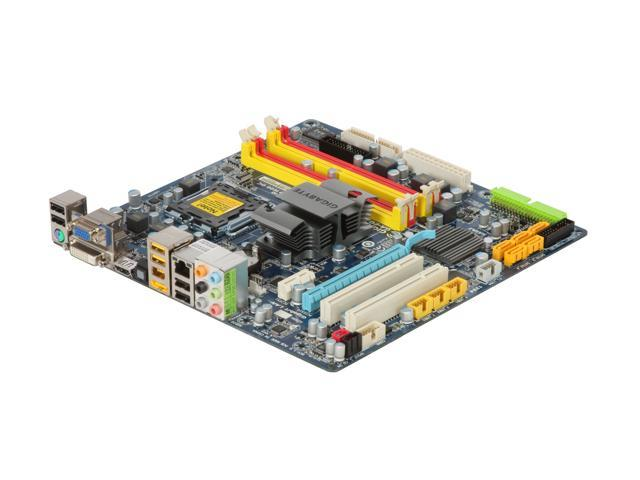 GIGABYTE GA-EG45M-UD2H LGA 775 Intel G45 HDMI Micro ATX Intel Motherboard