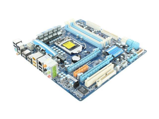 GIGABYTE GA-P55M-UD4 Micro ATX Intel Motherboard