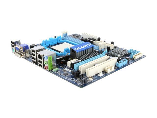 GIGABYTE GA-MA78LM-S2 AM3/AM2+/AM2 AMD 760G Micro ATX AMD Motherboard
