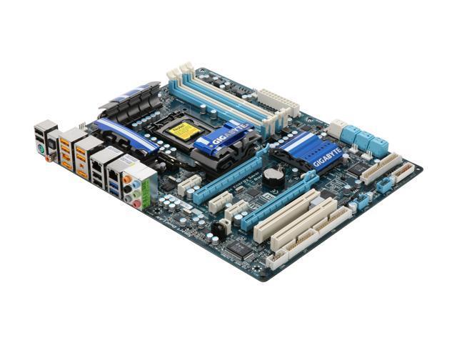 GIGABYTE GA-P55A-UD4P LGA 1156 Intel P55 SATA 6Gb/s USB 3.0 ATX Intel Motherboard w/ USB 3.0 & SATA 6 Gb/s