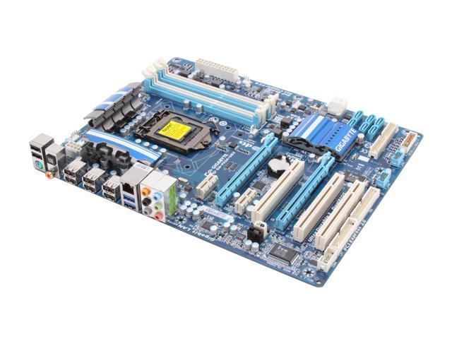 GIGABYTE GA-P55A-UD3 LGA 1156 Intel P55 SATA 6Gb/s  USB 3.0 ATX Intel Motherboard