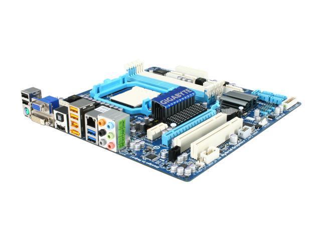 GIGABYTE GA-785GMT-USB3 AM3 AMD 785G USB 3.0 HDMI Micro ATX AMD Motherboard