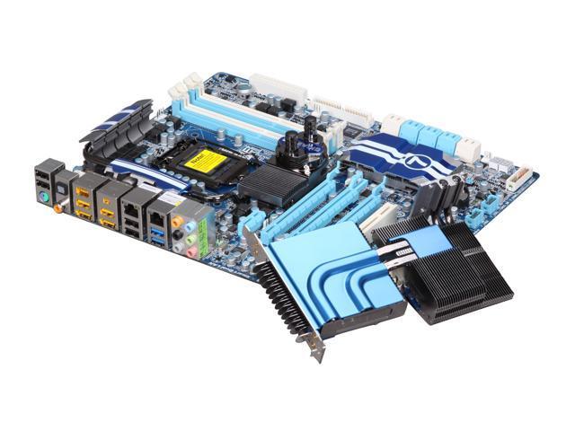 GIGABYTE GA-P55A-UD7 LGA 1156 Intel P55 SATA 6Gb/s USB 3.0 ATX Intel Motherboard
