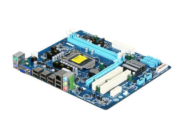 GIGABYTE GA-H55M-S2 LGA 1156 Intel H55 Micro ATX Intel Motherboard