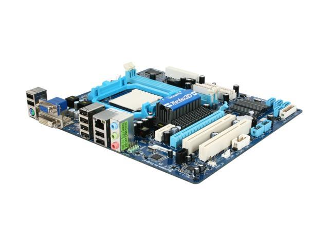 GIGABYTE GA-MA78LMT-S2 Micro ATX AMD Motherboard