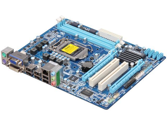 GIGABYTE GA-H61M-D2P-B3 LGA 1155 Intel H61 Intel Motherboard