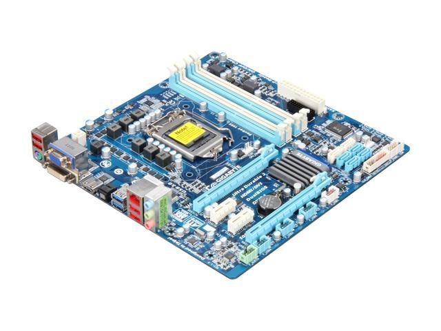 GIGABYTE GA-H67MA-USB3-B3 LGA 1155 Intel H67 HDMI SATA 6Gb/s USB 3.0 Micro ATX Intel Motherboard