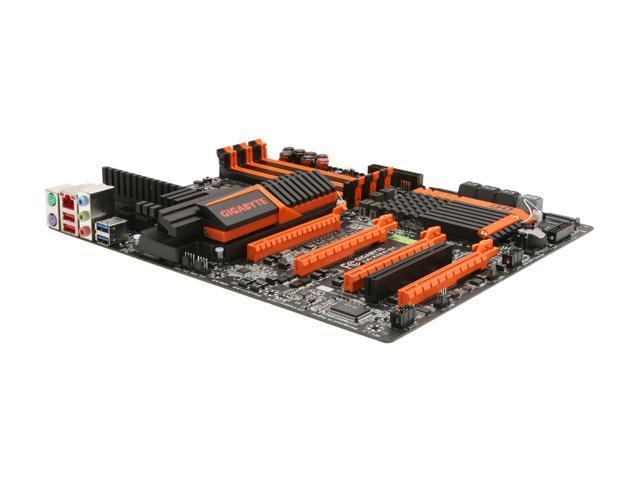 GIGABYTE GA-X58A-OC ATX Intel Motherboard