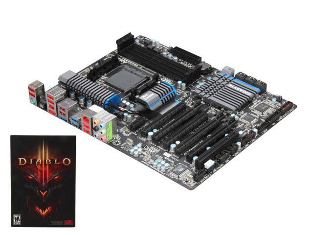 GIGABYTE GA-990FXA-UD5 AM3+ AMD 990FX SATA 6Gb/s USB 3.0 ATX AMD Motherboard