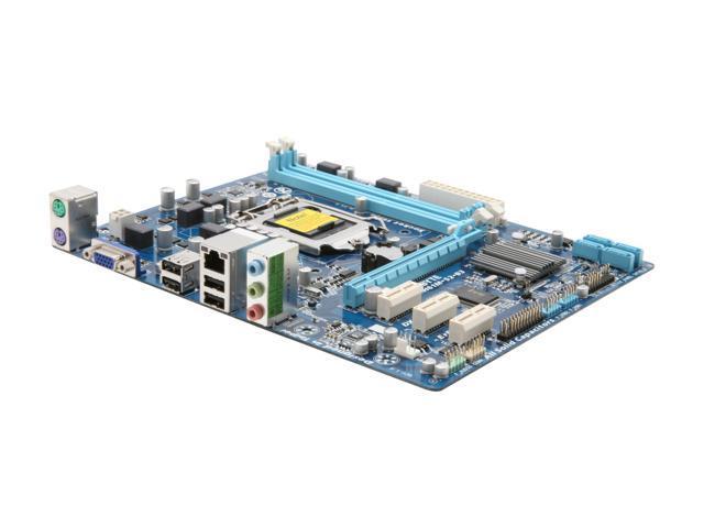 GIGABYTE GA-H61M-S2-B3 LGA 1155 Intel H61 Micro ATX Intel Motherboard
