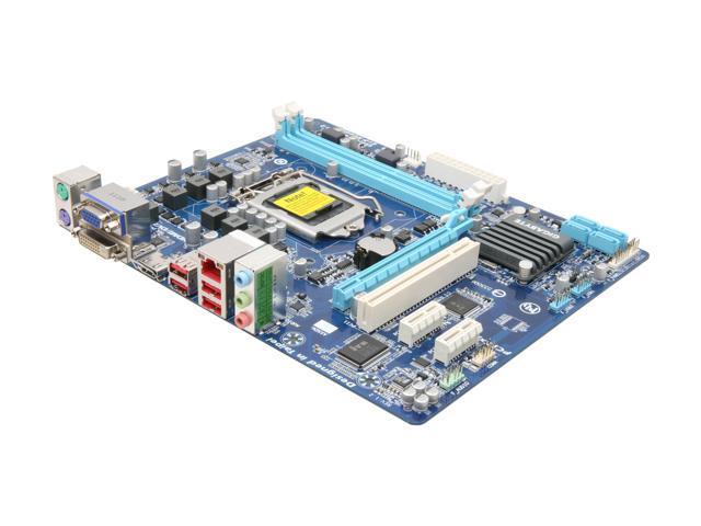 GIGABYTE GA-H61M-S2H LGA 1155 Intel H61 HDMI Micro ATX Intel Motherboard