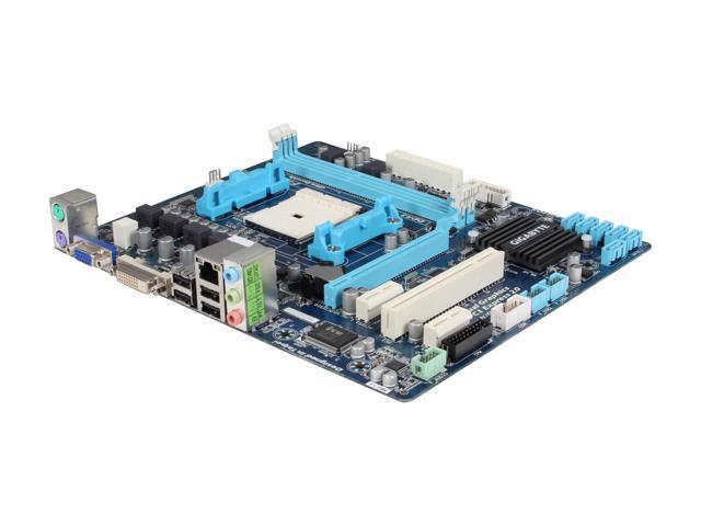 GIGABYTE GA-A55M-S2V Micro ATX AMD Motherboard