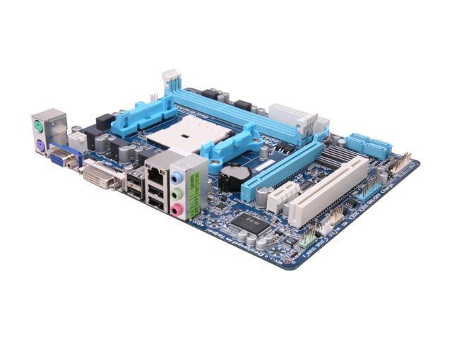 GIGABYTE GA-A55M-DS2 Micro ATX AMD Motherboard