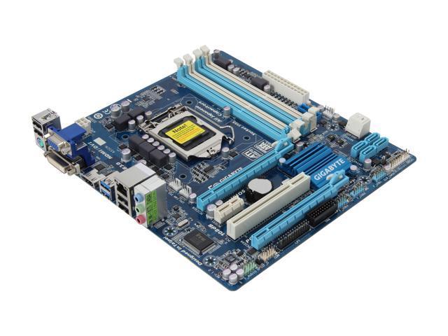 GIGABYTE GA-Z77M-D3H-MVP LGA 1155 Intel Z77 HDMI SATA 6Gb/s USB 3.0 Micro ATX Intel Motherboard
