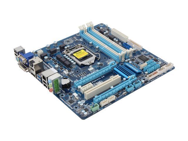 GIGABYTE GA-B75M-D3P LGA 1155 Intel B75 HDMI SATA 6Gb/s USB 3.0 Micro ATX Intel Motherboard