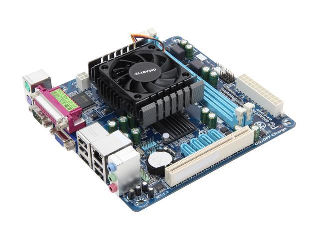 GIGABYTE GA-E350N AMD E-350D APU AMD A45 FCH Mini ITX Motherboard/CPU Combo