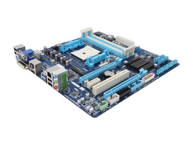 GIGABYTE GA-F2A85XM-D3H FM2 AMD A85X (Hudson D4) SATA 6Gb/s USB 3.0 HDMI Micro ATX AMD Motherboard