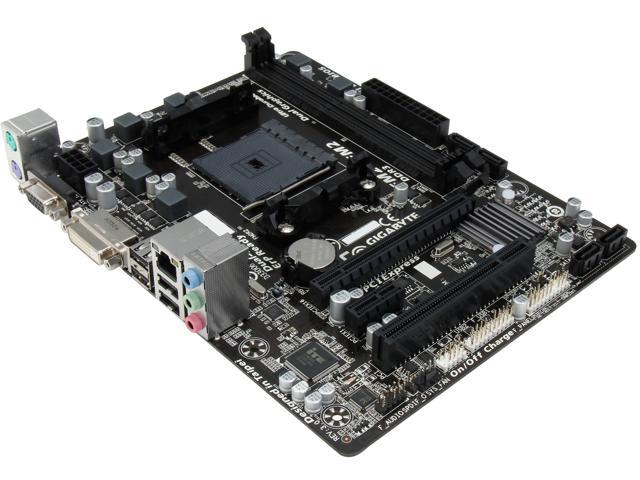 GIGABYTE GA-F2A55M-DS2 Micro ATX AMD Motherboard with UEFI BIOS