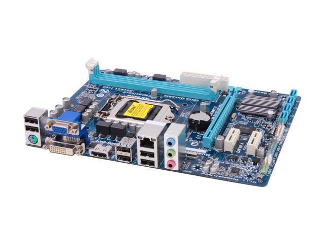 GIGABYTE GA-H61M-HD2 LGA 1155 Intel H61 HDMI Micro ATX Intel Motherboard with UEFI BIOS