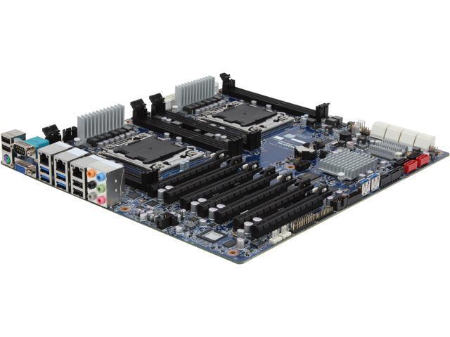 GIGABYTE 7PESH3 SSI EEB Server Motherboard Dual LGA 2011 Intel C602 DDR3 1600/1333/1066