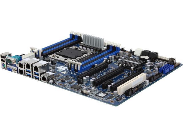 GIGABYTE 6PXSV4 ATX Server Motherboard LGA 2011 Intel C604 1.35V modules: 1066 / 1333 / (1600) MHz 1.5V modules: 1066 / 1333 / 1600 / (1866) MHz