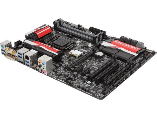 GIGABYTE GA-Z87X-UD5 TH LGA 1150 Intel Z87 HDMI SATA 6Gb/s USB 3.0 ATX Intel Motherboard